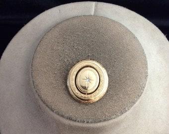 Vintage Signed Avon Rhinestone Pin