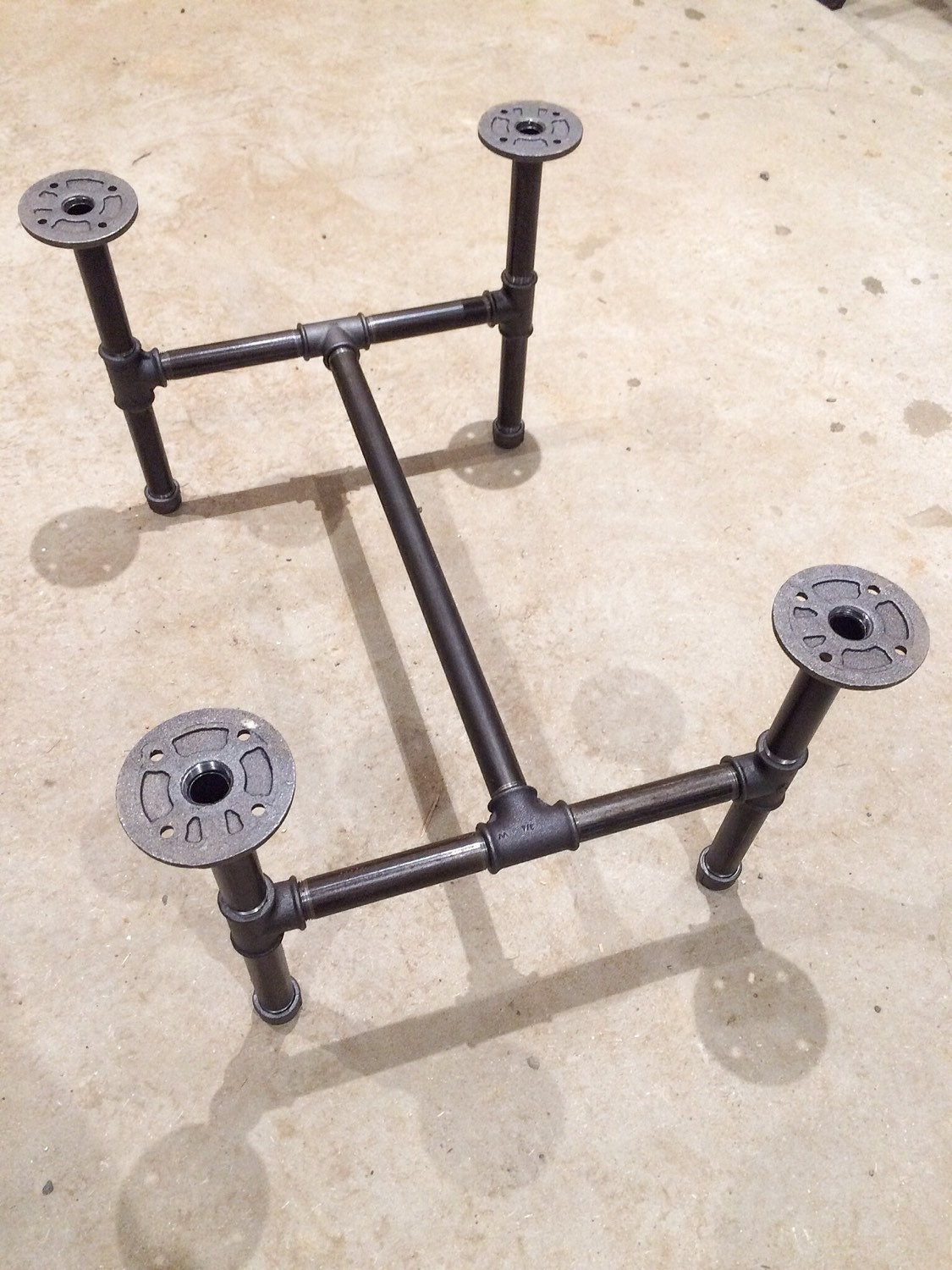 Steel Pipe Coffee Table Legs