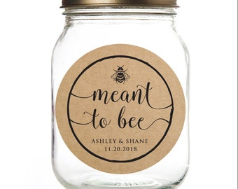 Honey jar labels | Etsy