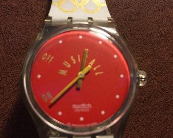 Vintage Swatch Tokyo 1964SLZ100