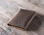 Breast Pocket Wallet - Leather Wallet - Handmade Leather Wallet - Distressed Leather Perfection - Listing #026