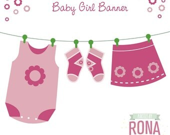 Baby Shower Printable Party Banner