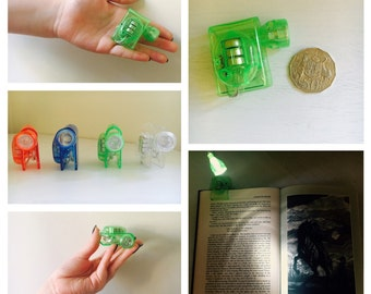 Clip-on Book Light (4 Colours)