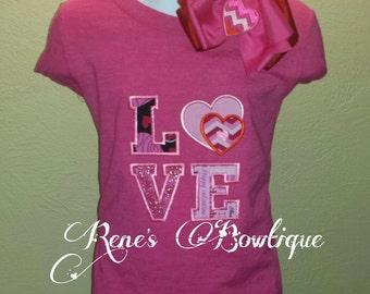 Valentine LOVE TShirt