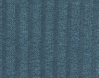 Bean Bag Fabric/Backdrop- Photo Prop - Blue Ribbed Knit