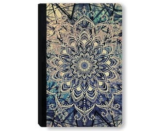 On Sale - For iPad Air Case, for Galaxy Tab Case, for kindle fire case, for ipad case, tablet folio cover, tablet case - Mandala Boho