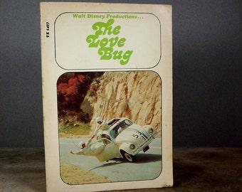 Vintage Paperback Book Herbie The Love Bug 1960s Disney Movie
