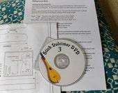 Stick dulcimer plans Full size with CD-ROM,    Full YouTube Video vourse