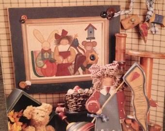 Vintage Woodcraft Pattern Book, Michele Deaton, Keep Makin' Pretties.