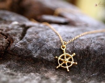 Golden Pirate Necklace 14k