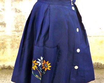 Sartorial skirt made in italy size M, 1950