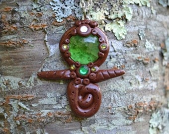Fairy Finder Necklace ~ Wishing Stone ~ Fairy Glass ~ Elgiva