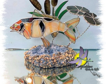 PATTERN: 3D Stained Glass Koi / Carp