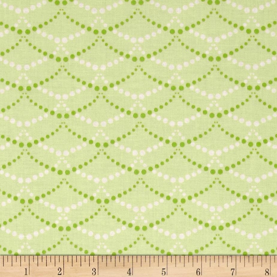 Scallop fabric by the yard quilting nursery baby for Baby nursery fabric yard