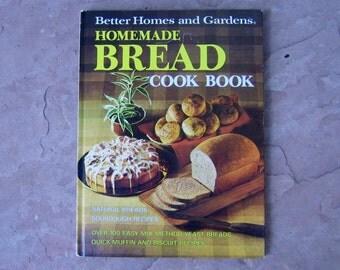 Bread Cookbook, Homemade Bread Cook Book, Better Homes and Gardens Homemade Bread Cookbook, 1974 Vintage Cookbook