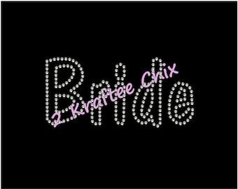 Bride Rhinestone Shirt, Bride Bling Shirt, Bride Rhinestone Tshirt, Bride Bling Tshirt, Bride Shirt, Bride Tshirt