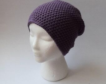 Brooklyn Slouch Beanie (Crochet)