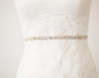 Bridal sash, bridal belt, belts and sashes, wedding sashes - Style R84