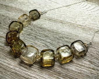 Light Brown Romance Necklace