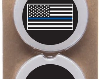 "Shop ""thin blue line flag"" in Kitchen & Dining"