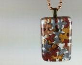 Autism Awareness Pendant, Autism Jewelry, Autism Puzzle Piece Pendant, Resin Pendant, Puzzle Piece, Autism Necklace, Autism Mom, Resin