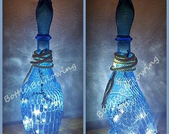 Cobalt Blue Lighting Etsy