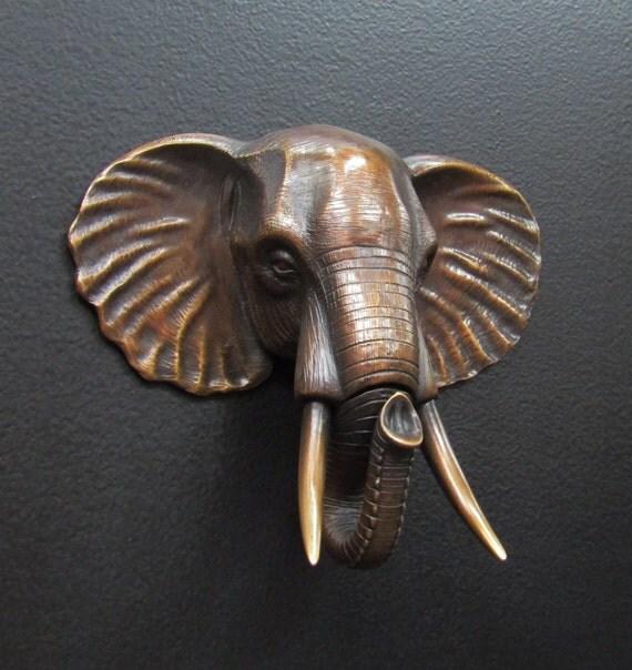 Elephant head door knocker - Elephant door knocker ...