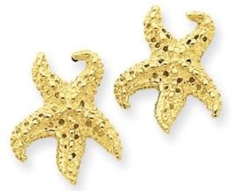 Starfish Earrings With Holes (JC-807)