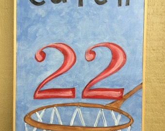 Catch 22 mixed media piece  11.75x18.5 inches