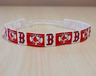 Non-Slip Headband - Red Sox 2