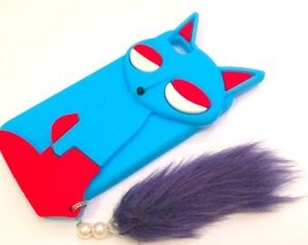 IPHONE 5 FOXY BLUE Phone Case