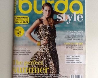 BurdaStyle 7/2014 mag w/patterns