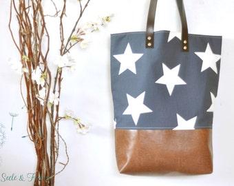 LIVA - small shopper / star
