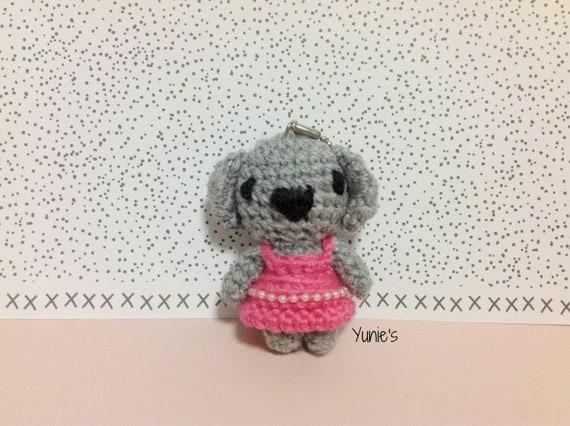 Amigurumi Koala Keychain : Crochet amigurumi Koala amigurumi keychain Koala amigurumi