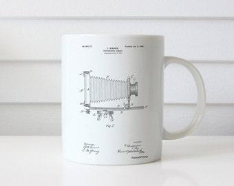 Photographic Camera Patent Mug, Photographer Gift, Camera Mug, Antique Camera, Photography Mug, PP0985