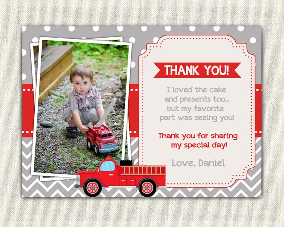 Boys firefighter fireman fire truck custom personalized birthday il570xn bookmarktalkfo Image collections