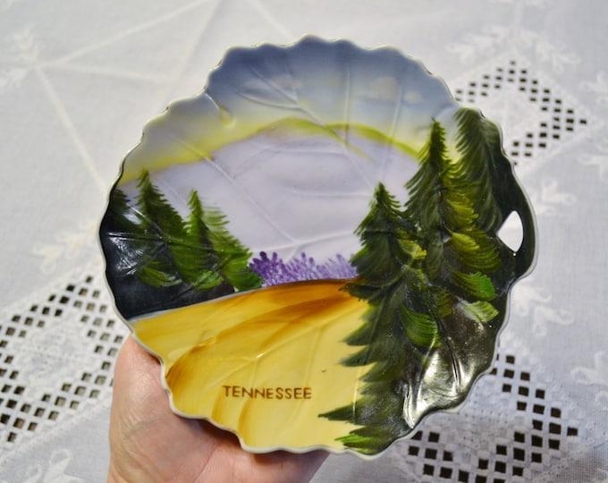 Vintage Decorative Plate Tennessee Collectible Travel Souvenir Sphynx Japan PanchosPorch