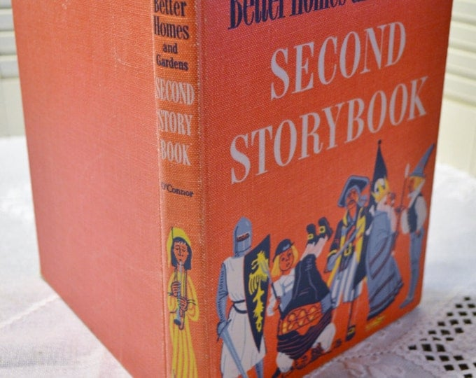 Better Homes and Gardens Second Storybook 1952 Vintage Book PanchosPorch