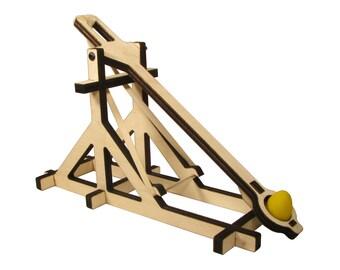 Medieval Wood Mangonel Catapult Kit