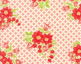 Handmade - Gwendolyn Coral by Bonnie and Camille for Moda, 1/2 yard, 55146 13