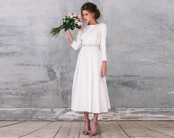 Kanika / long sleeve wedding dress with sleeves wedding dress Long sleeve Wedding dress bridal gown with sleeves bridal gown wedding gown