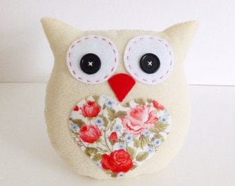 Lavender Scented Owl PDF Sewing Pattern and Tutorial, Instant Download, Easy Step-by-Step Instructions
