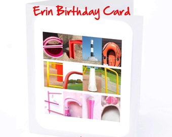 Erin Personalised Birthday Card