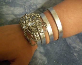 Women's Armband with Butterfly