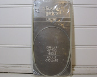 "29"" Circular Knitting Needles Susan Bates Size 3 needles"