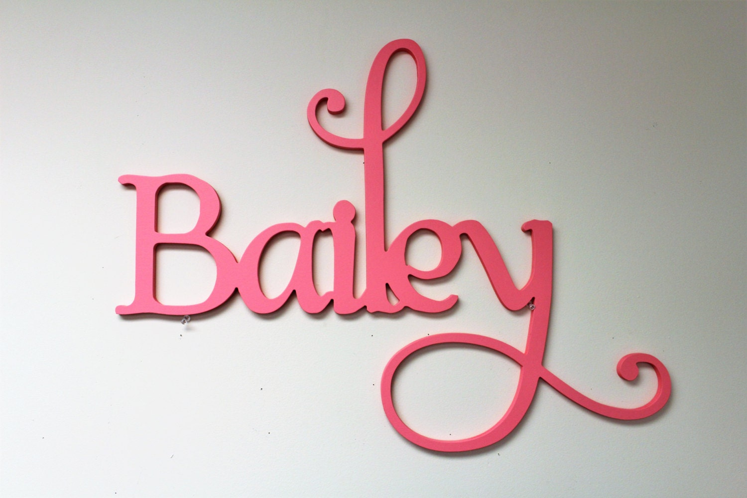 Nursery Name Decor Custom Name Wooden Letters For Wall