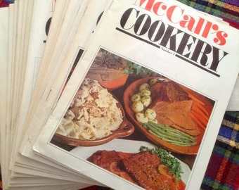 McCalls Cookery Collection, Vol 1 thru 24 1983, 24 books total