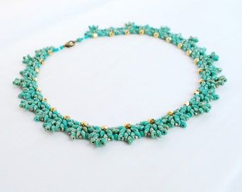 Picasso turquoise necklace