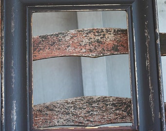 Black Distressed Picture Frame | Distressed | 8x10 | Recycled Frame | #0111