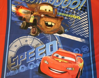 "1 Panel of 100% cotton ""Cars"" fabric"
